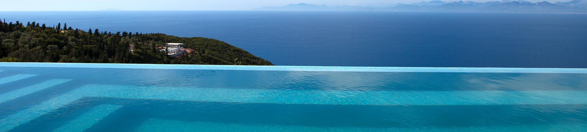 accommodation ionian horizon villas lefkada greece